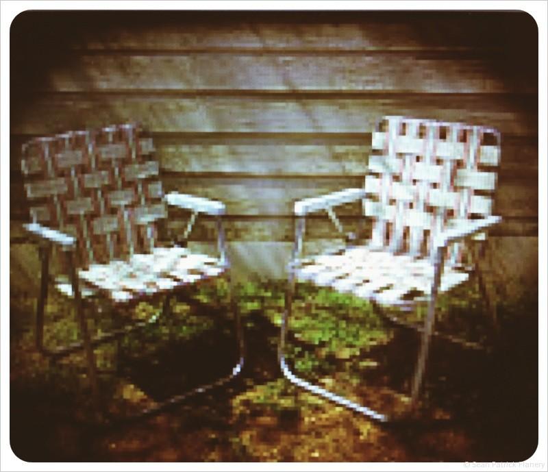 Sean Patrick Flanery lawn chair Sunshine Superman